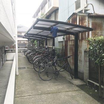 駐輪場もありますよ