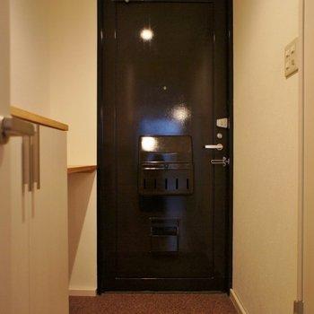 ゆったりとした玄関がいいね!