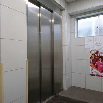 共用部】エレベーターは綺麗にされたようです