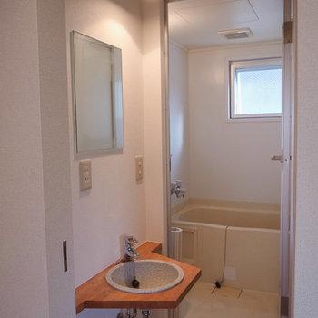 水回り ※写真は4階の似た間取り別部屋のものです
