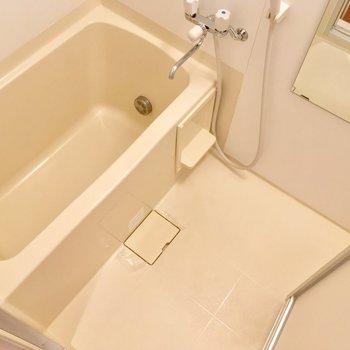 バスルームは至ってシンプル※写真は3階の同間取り別部屋のものです