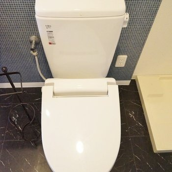 トイレもまだまだ綺麗!※写真は同タイプの別室