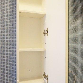 洗面台もたっぷり収納♩※写真は同タイプの別室