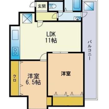 それぞれのお部屋を持ちたい2人暮らしに◎