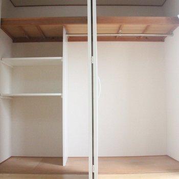 巨大な収納。2段ベッドのようにも見えます ※写真は3階の同間取りの別部屋のものです