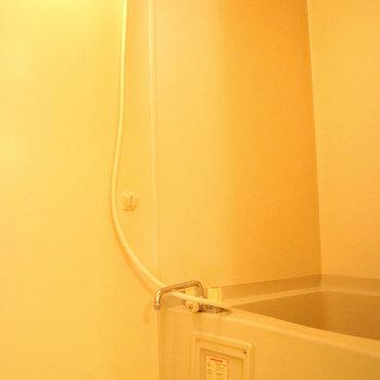 お風呂もきれい!※写真は1階同間取り別部屋のものです