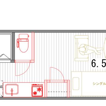 最上階角部屋!ゆったりと暮らせる広さがありますよ