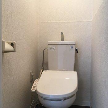 トイレはウォシュレット完備