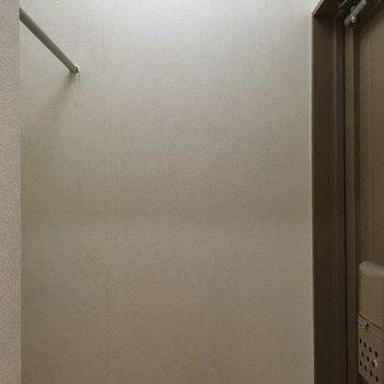 玄関扉がこちらにも!