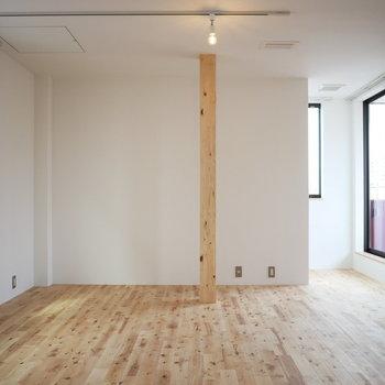 寝室兼クローゼットに。室内干しのスペースも確保できます