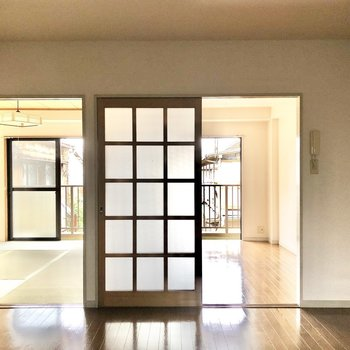 まずは右側の洋室から見ていきましょう。※写真は2階の同間取り別部屋のものです