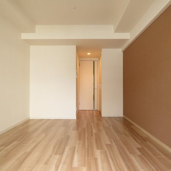 この色合い雰囲気大好きです※写真は13階の同間取り別部屋のものです。