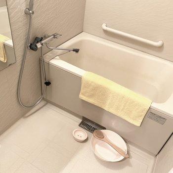 親子で仲良くお風呂の時間〜(※小物は見本です)
