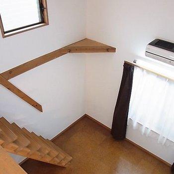 メゾネットタイプですよ。※写真は同階の同間取り別部屋のものです