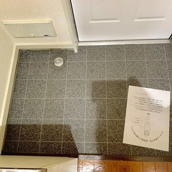 開放的な玄関です※写真は2階同間取り別部屋のものです