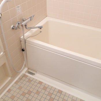 浴室もゆったりめで長風呂も楽しめますね