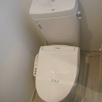 トイレもきれいになりました