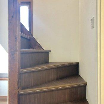 さて、2階へ行ってみましょう。