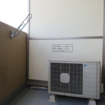 バルコニーからは※写真は8階の反転間取り別部屋のものです。