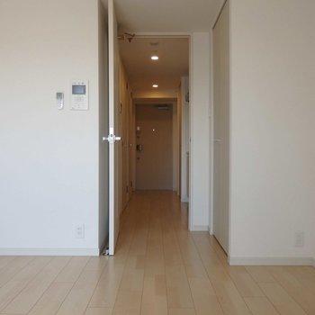 日々の始まりはここから。※写真は4階の同間取り別部屋のものです