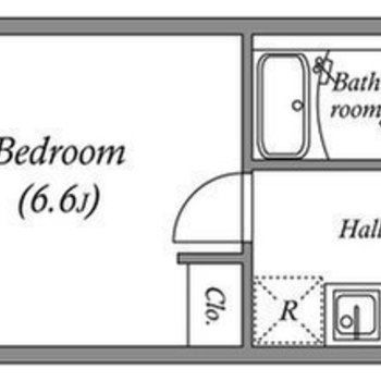 バルコニーから玄関まで風が通り抜けるお部屋
