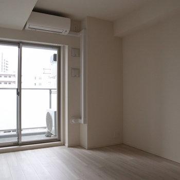天井も高く開放感がありますね。
