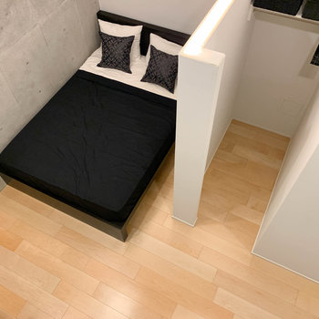 【BD】地下室が広がります。ダブルベッドも楽々置けちゃう。