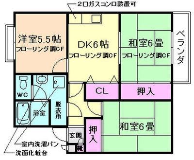 渋谷レジデンス の間取り