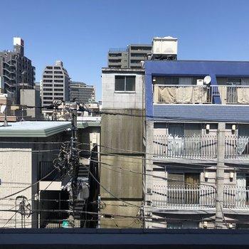 眺望、普通の東京の風景