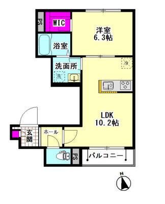 仮)大田区羽田5丁目シャーメゾン の間取り