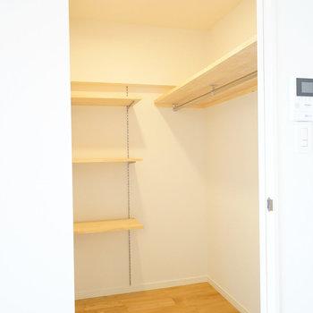 【イメージ】パントリーはこのぐらいの広さに棚が設置されます
