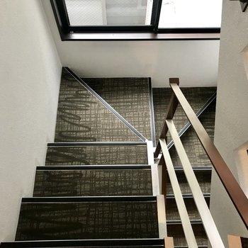 共用部の階段はこちら。