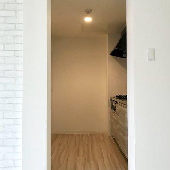 キッチンスペースはこちら。