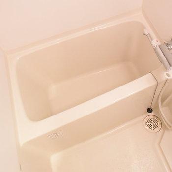 お風呂はかくかくっと