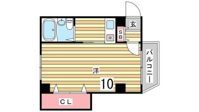 カネカパークサイド須磨北 の間取り