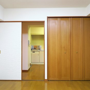 このシンプルさ。※写真は4階の同間取り別部屋のものです