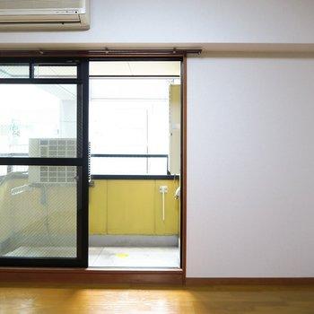 エアコンだってあります。※写真は4階の同間取り別部屋のものです
