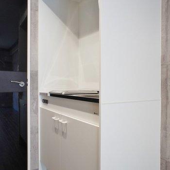 キッチンはコンパクト※写真は、前回撮影時のもの