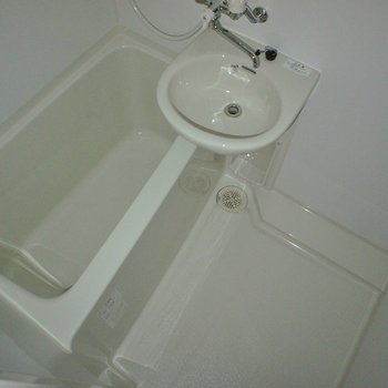 お風呂はこちら。
