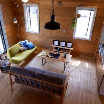 【LDK】時には2人で語り明かす夜も。※家具はサンプルです