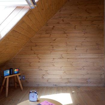 【洋室②】プライベートもしっかり確保できますね。※家具はサンプルです