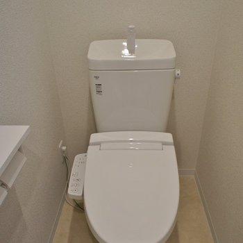 トイレも綺麗で嬉しい◎