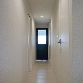 廊下長っっ