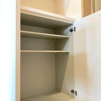 シューズボックス上に鍵置き場を設けたい。(※写真は清掃前のものです)