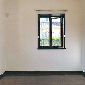 窓が2つ付いてます!