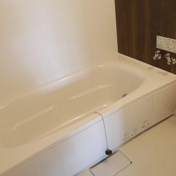 浴槽で足を伸ばしてゆったりリラックスタイム〜♪