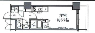 エイチエフ駒沢公園レジデンスタワーの間取り