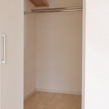 嬉しいギャップのWIC!※写真は2階同間取り別部屋のものです