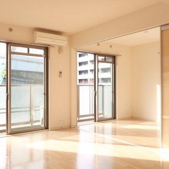 日差しをたっぷり浴びましょ♩※写真は2階同間取り別部屋のものです