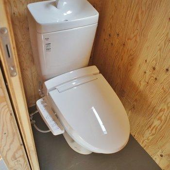 トイレは2Fです!